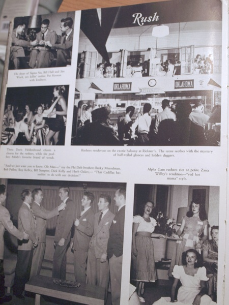 sooner yearbook 1949 page