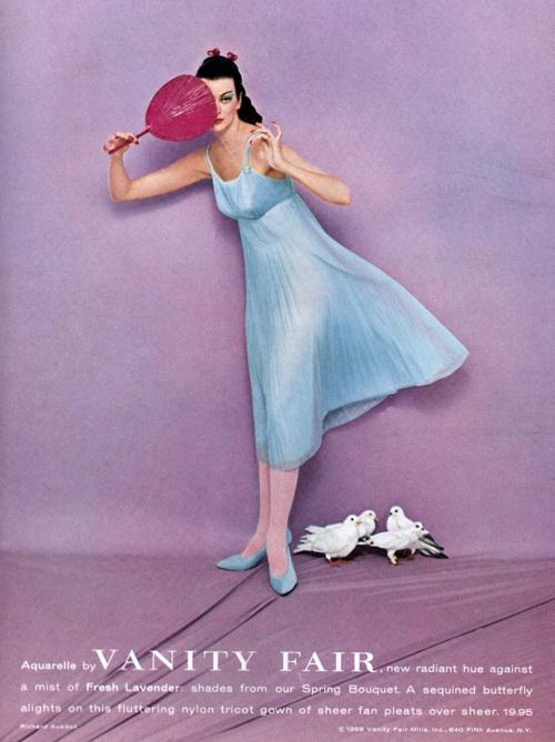 1958 Vanity Fair lingerie ad