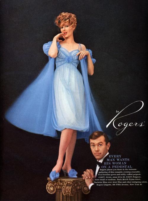 Rogers lingerie vintage ad
