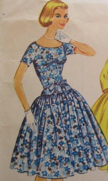 Betty Draper vintage pattern