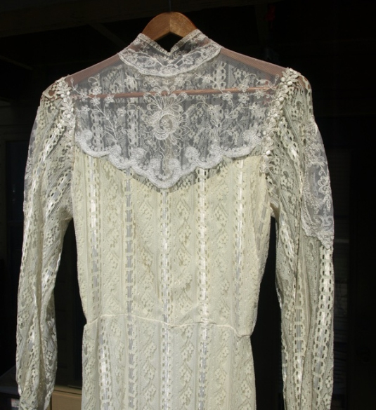Vintage Alfred Angelo Victorian Wedding Dress