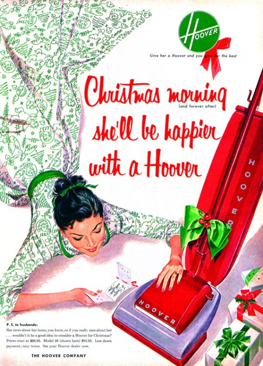Hoover 1960 Christmas Ad
