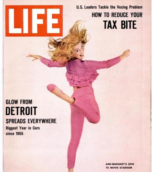 Life Magazine 1960s Ann Margaret Bye Bye Birdie