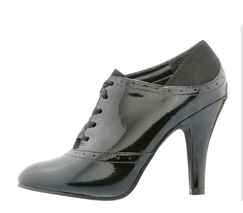 Oxford high heel