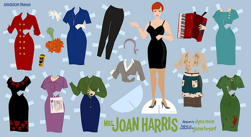 Mad Men Joan Doll
