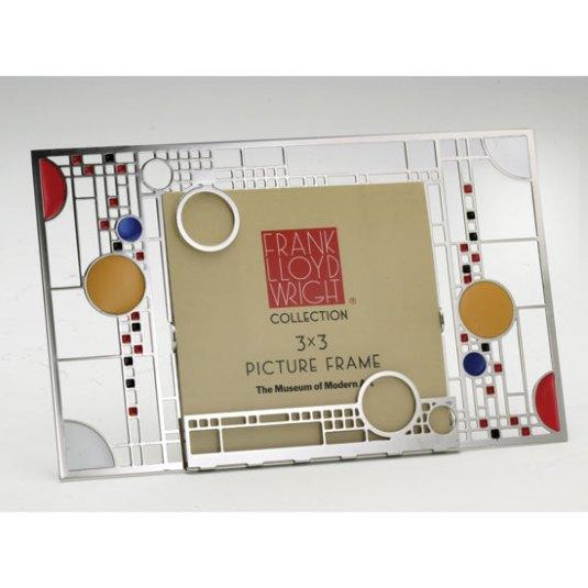 Frank Lloyd Wright metal frame