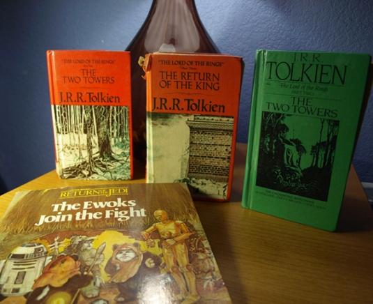 Retro Sci Fi Books Star Wars Tolkien LOTR