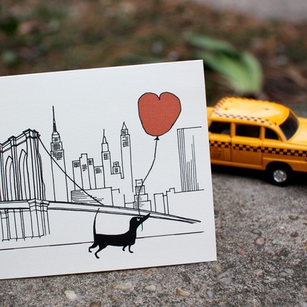 valentine card NYC