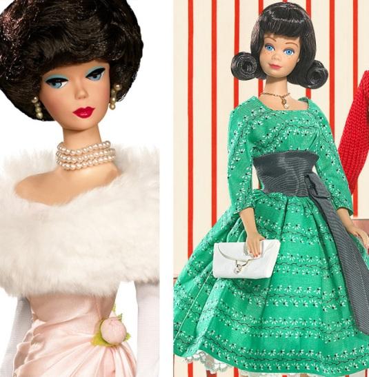 barbie vintage gowns