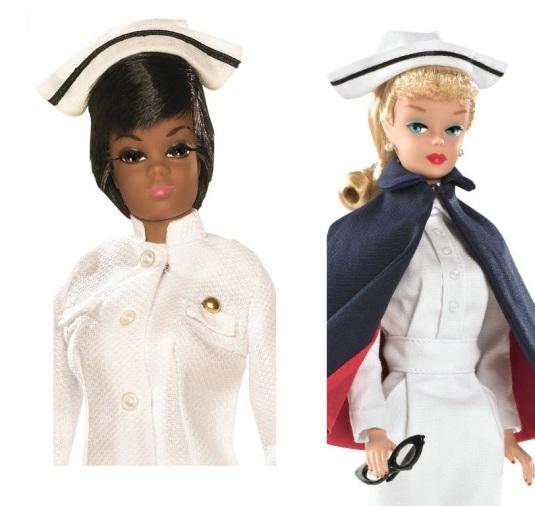 barbie nurse african american 1960s