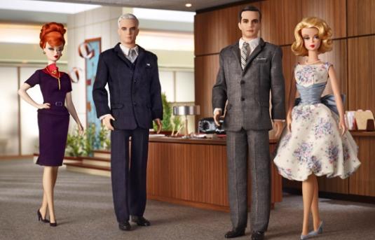 Mad Men Barbie