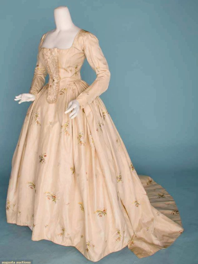 Fashion By Decade 1790s To 1890s Lost In Austin