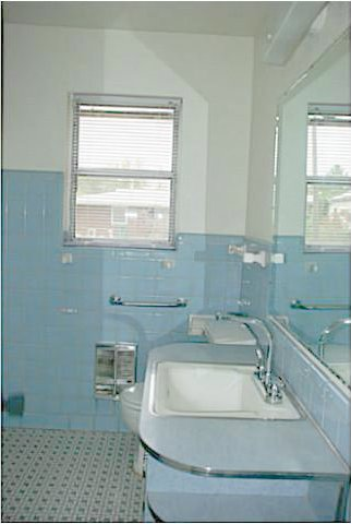 Blue And Mint Green Bathrooms Lost In Austin