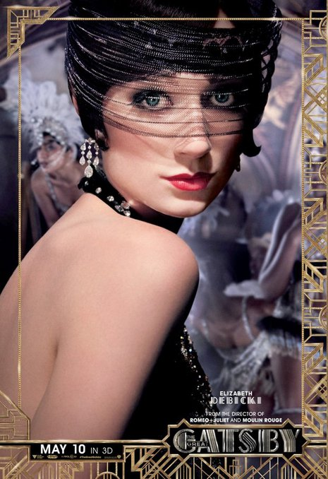 How does daisy wear a mask great gatsby
