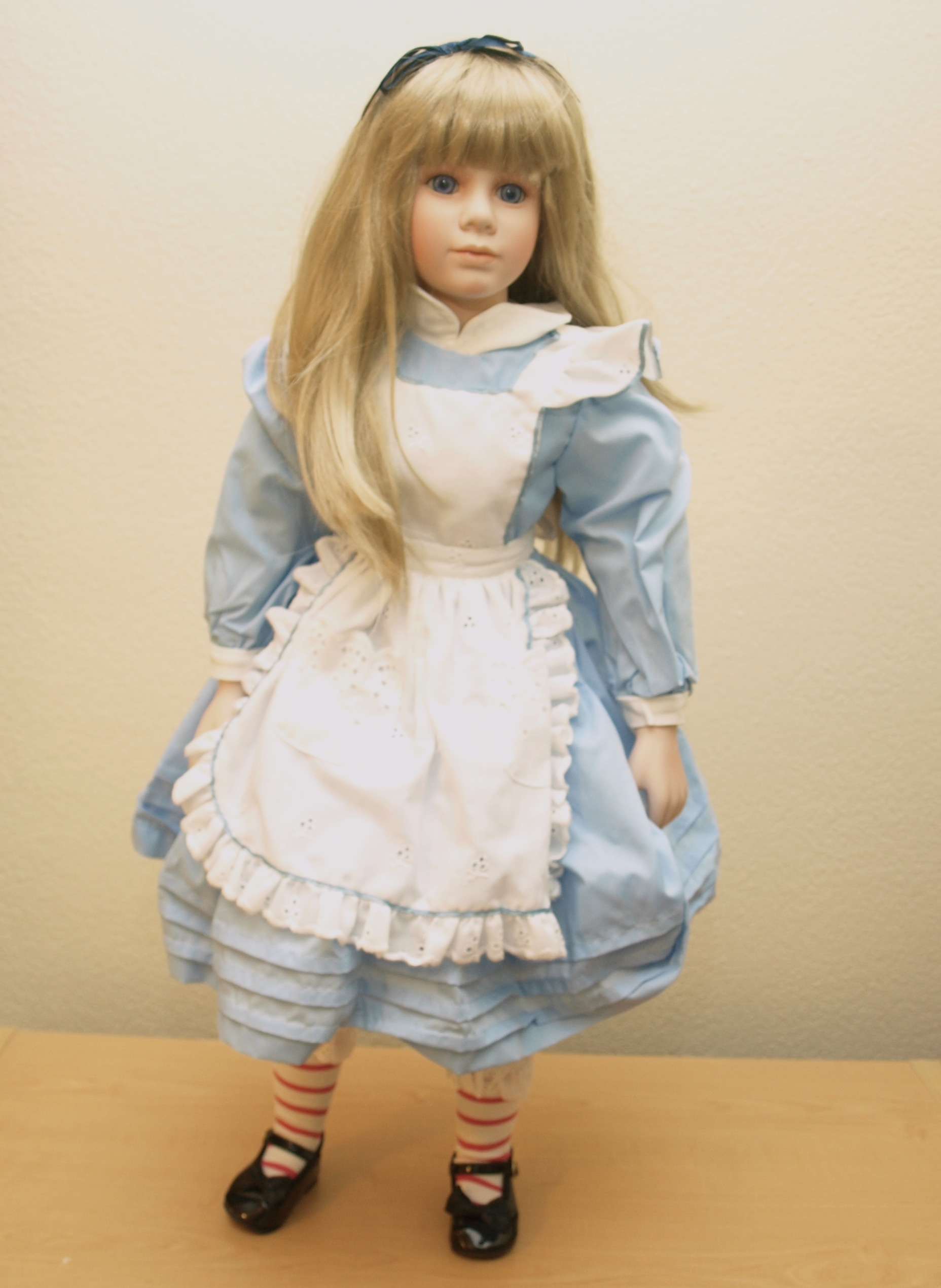 Alice Porcelain Doll by Thelma Resch  Lost in Austin