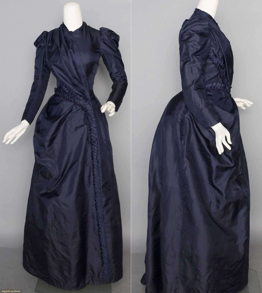 1888-navy-bustle dress